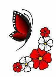 Painted Garden Rocks, Hand Painted Rocks, Butterfly Art, Butterfly Design, Clay Flower Pots, Cross Tattoo Designs, Sunflower Art, Clay Pot Crafts, Flower Doodles