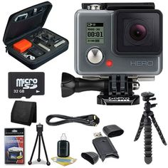 #geek #hair  This #DavisMax Bundle Includes:     1- GoPro HERO Action Camera Brand New w/ All Manufacturer Accessories  1- 32GB micro SD Micro Secure Digital Cla...