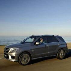 Does your volcano model need to get to the science fair before it goes dormant? Let the ML63 AMG's handbuilt 5.5-liter biturbo V-8 erupt with up to 550 hp—and you'll be there in no time.  #Mercedes #Benz #ML63 #AMG #SUV #instacar #carsofinstagram #germancars #luxury