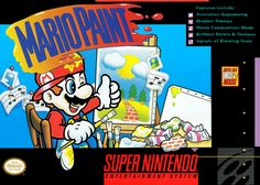 Mario Paint, loved this game