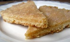 Maple Shortbread with Sea Salt Sprinkle.  Thank you Cafe Sucre Farine.