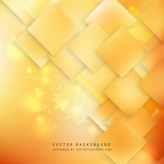 Abstract Orange Square Background Design #freevectors