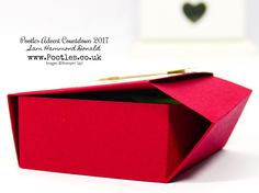 Pootles Advent Countdown #19 Ikea Candle No Glue Tuck & Close Box Tutorial