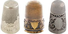 I love these I use to collect thimbles when I was younger but for some reason people aren't making them like they use they are so hard to find these days :(