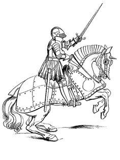 medieval knight drawing - google search | ritter zeichnung, skizzierung, zeichenvorlagen