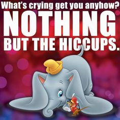 *DUMBO & TIMOTHY Q. MOUSE ~ Dumbo, 1941 awwwwwhhhhhh totally reminds me of my little Bella when she cries @Carolina Andrade
