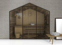 Sauna Home Sweet Home di Glass #glass #cosedicasa #casa #sauna #home #house #bagno #bathroom