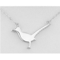 Roadrunner necklace - a subtle ode to your love of running. Or for your love of @jenni fisher? Lol jk!!