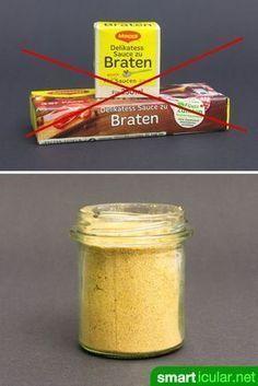Tschüss zu künstlichen Aromen und anderen Zusatzstoffen! Mit diesem einfachen Rezept kannst du Einrührpulver für dunkle Soßen ganz einfach selber machen.