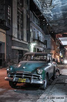 Havana, Cuba by Manchester Photographer Darby Sawchuk Cuba Vintage, Cuba Honeymoon, Cuban Cars, Cuba History, Cuba Photography, Varadero, Cuba Travel, Mercedes, Abandoned Cars