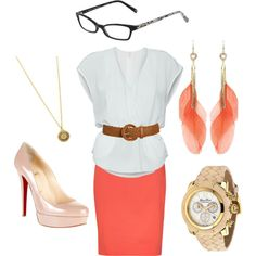 Business woman, created by ulu-kahikina on Polyvore