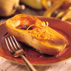 Candied Butternut Squash Any winter squash can be used with this recipe, but you'll love the satiny texture of butternut squash.
