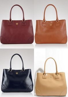 Never go to work without it.  Tory Burch Robinson Tote.