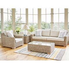 See the fabulous Kew Seating suite of modern rattan conservatory sofas, armchairs and occasional tables at Holloways. Sunroom Furniture, Furniture Care, Types Of Furniture, Rattan Furniture, High Quality Furniture, Lounge Furniture, New Furniture, Living Room Furniture, Rattan Sofa