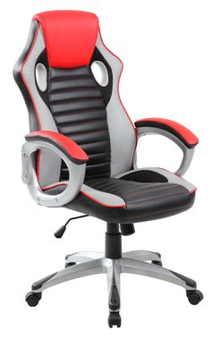 Best Chair For Pc Gaming 2016 Table And Rental Near Me 10 Top Ergonomic Office In Reviews Images Anji Modern High Back Erogonomic Racing Style Computer Executive Swivel Pu Leather Black Red
