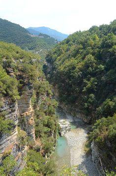 Osumi Canyons, Skrapar, Albania