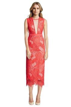 Manning Cartell - Gallery Views Sheath Dress - Front - Geranium