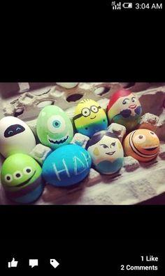 Disney eggs.
