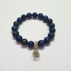 Royal Blue Crown Crown Royal, Lapis Lazuli, Natural Gemstones, Royal Blue, Beaded Bracelets, Charmed, Couture, Beads, Jewelry