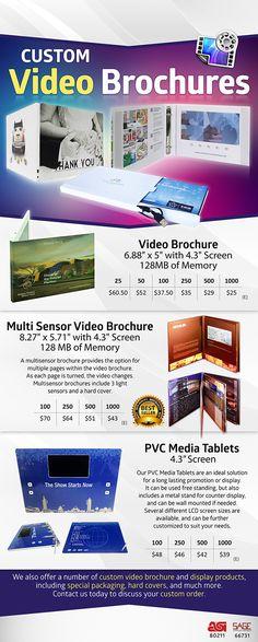 Video Brochure  Video Brochures    Brochures