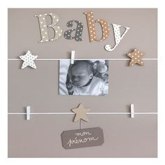 Baby Scrapbook, Scrapbook Paper, Baby Bedroom, Diy Photo, Photo Displays, Baby Love, Mini Albums, Kids Room, Baby Shower