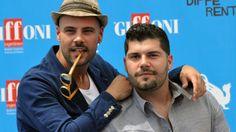 Marco D'Amore e Salvatore Esposito a Giffoni