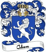 Adam Coat of Arms  Adam Family Crest   VIEW OUR FRENCH COAT OF ARMS / FRENCH FAMILY CREST PRODUCTS HERE