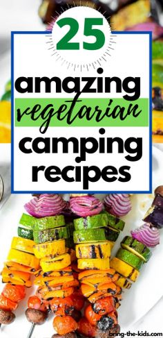 The most delicious camping recipes for vegetarians. We've compiles recipes for the best vegetarian camping meals so that from breakfast until dessert, you can feast on delicious vegetarian camping food. Vegetarian Camping Recipes, Healthy Camping Meals, Camping Food Healthy, Camp Meals, Camping Foods, Backpacking Meals, Camping Cooking, Family Camping, Camping Hacks