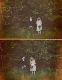 I really love this elopement shoot