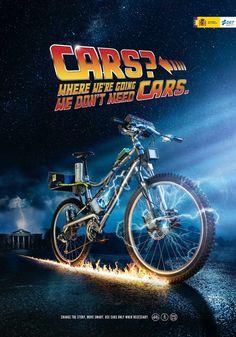 Campagne publicitaire incitant à circuler à vélo   Vélo ville & vélo urbain sur Le Vélo Urbain.com