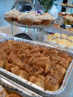 MIH Recipe Blog: Brunch Time with Eggland's Best! Baked French Toast, Breakfast Casserole, Cinnamon Rolls, Quiche Cups, Blueberry Muffins and more!