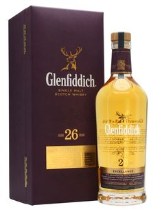 Excellence is a 26 year old expression from Glenfiddich, aged exclusively in ex-bourbon casks sourced from the Kelvin Cooperage in Kentucky, which, like Glenfiddich, is independently owned by a Sco. Whiskey Girl, Cigars And Whiskey, Bourbon Whiskey, Scotch Whisky, Whiskey Bottle, Glenfiddich Single Malt, Glenfiddich Whisky, Cocktail Drinks, Fun Drinks