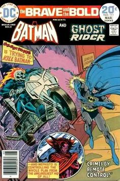 Batman and Ghost Rider
