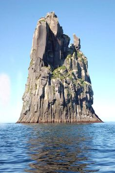 """""""A rock near Urup. Urup is an uninhabited volcanic island in the south of the Kuril Islands chain in the Sea of Okhotsk. Russia has such amazing geology that you never really think about! Amazing Places On Earth, Places Around The World, Around The Worlds, Places To Travel, Places To See, Beautiful World, Beautiful Places, Beautiful Islands, Wonderful Places"""