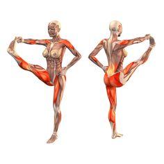 Extended right hand to big toe pose - Utthita Hasta Padangustasana right - Yoga Poses | YOGA.com