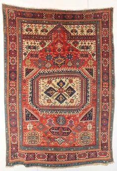 Karabagh prayer rug dated 1817