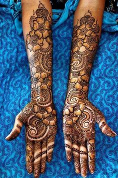Browse the latest Mehndi Designs Ideas and images for brides online on HappyShappy! We have huge collection of Mehandi Designs for hands and legs, find and save your favorite Mehendi Design images. Dulhan Mehndi Designs, Mehandi Designs, Latest Bridal Mehndi Designs, Mehndi Designs 2018, Unique Mehndi Designs, Mehndi Design Photos, Beautiful Henna Designs, Mehendi, Mehandi Images