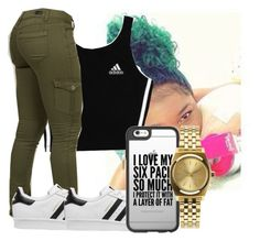 """""""Last one gn"""" by heyitsamber115 on Polyvore featuring adidas, adidas Originals, Casetify and Nixon"""