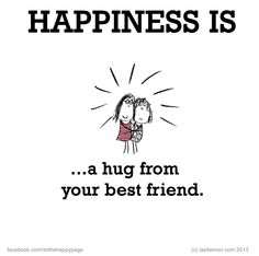Happiness is... @Kirstin Nielsen Rideout i am hugging you right now. can you feel it? ;D