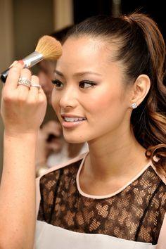 jamie chung, natural makeup