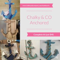 Anchored kit from Chalky & CO.