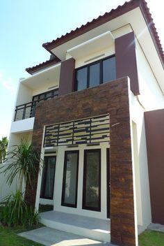 Memikat Fasad Lewat Batu Alam|Rumah Tanah Dijual,Di Bogor