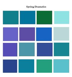 spring dramatics