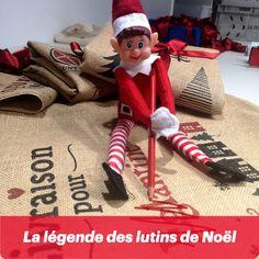 Découvrez la légende des lutins de noël et amusez vous à reproduire cette tradition venue tout droit des Etats-Unis Elf On The Shelf, The Elf, Holiday Decor, Christmas Elf, Big Kids, Vintage Christmas