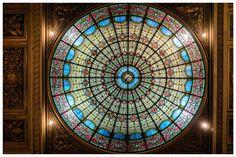 La magnifique verrière de l'église Saint-Philippe-du-Roule … à Paris 8ème arrdt.   #photo jarri mimram#france#paris#église#saint-philippe-du-roule#verrière