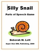 Silly Snail: Parts of Speech Game  Rent and purchase homeschool curriculum and parent resources at https://www.yellowhousebookrental.com
