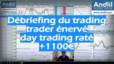 Une journée de trading positive avec un gain de 1100 € mais un day trading raté et je me suis énervé, la première fois depuis 4 ou 5 ans... https://www.andlil.com/trader-enerve-202650.html