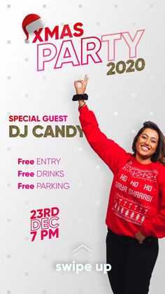 Reach your customers, friends and family with simple, professional content on time-sensitive topics, such as Christmas, to attract traffic to your business. Special guest DJ to promote the Xmas 2020 event with free entry, free drinks and free parking on December 23rd. This simple video animation can be created in various formats and shared to all social media platforms such as Facebook, Instagram, Twitter and LinkedIn, and also shared to Instagram and Facebook Stories. Small Business Marketing, Content Marketing, Media Marketing, Social Media Channels, Social Media Content, Social Media Page Design, Company Anniversary, Free Entry, Instagram Story Ideas