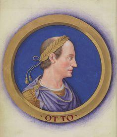 Jean Bourdichon: Description des douze Césars avec leurs figures 8-Othon.jpg