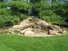 Image result for small boulder water feature